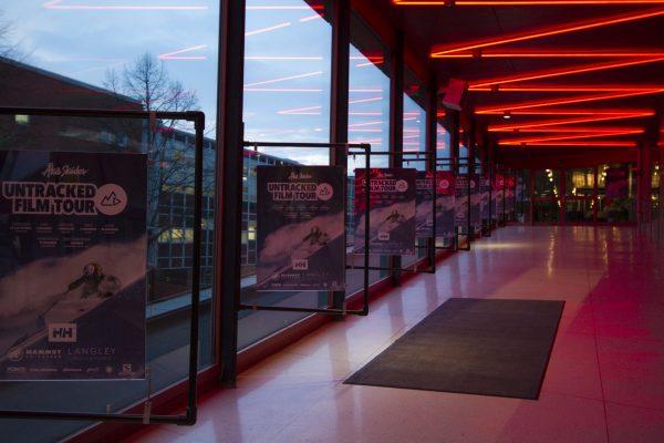 Premiären i Stockholm på film